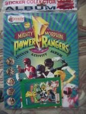 Mighty Morphin Power Rangers Sticker Activity Album Merlin