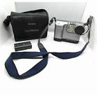 Sony Mavica MVC-FD88 1.3 MP Digital Camera Floppy Disc Case No Charger Disc Gray