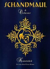 "SCHANDMAUL & ORCHESTER - KUNSTSTÜCK DVD + CD (2005) LIVE IM ""CIRCUS KRONE"""