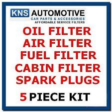 Ford Ka 1.6i Sport,Streetka,Plugs,Oil,Fuel,Air & Pollen Filter Service Kit -F15p