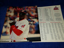 GAME FACE INDIANS  MAY 1996 KENNY LOFTON