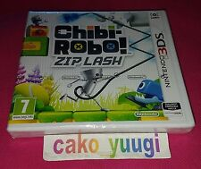 CHIBI ROBO! ZIP LASH NINTENDO 3DS NEUF NEW VERSION 100% FRANCAISE