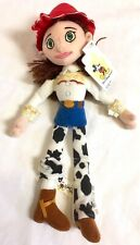 "New Disney Parks Toy Story Jessie Mini Bean Bag Plush Doll 12"" Woody Cowgirl NWT"