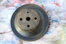 1969 1970-72 Chevrolet BBC SBC - Water Pump Pulley Single Groove - GM 3995631 AO