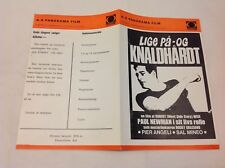 Somebody Up There Likes Me Poul Newman Angeli 1956 Danish Movie Press Release