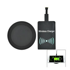 Qi Wireless Charger Charging Pad & Receiver Set For Android Samsung Huawei HTC