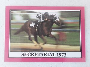 "1X SECRETARIAT 1990 Star KENTUCKY DERBY #99 5"" X 7"" reprint"