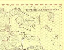 D&D Judges Guild Maps Original City State Campaign Judges & Players Both!
