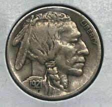1921 Buffalo Nickel - Nice Extra Fine