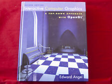 Interactive Computer Graphics: A Top-Down Approach with OpenGL | LIKE NEW!