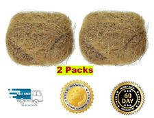 New listing Sterilized Natural Coconut Fiber for Bird Nest, chicks clean nest box (2 Pack)