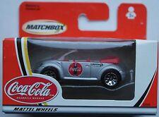 "Matchbox - VW Concept 1 / New Beetle Cabrio silbermet. ""Coca-Cola"" Neu/OVP"