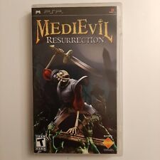 Sony psp umd game Medievil Resurrection
