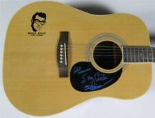 THE CRICKETS Signed Autograph Guitar by All 3 Members - Buddy Holly Related