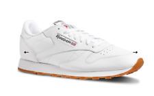 Reebok Classic Leather Shoes White UK 11 US 12 EUR 45.5 CM 30 ^