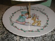 New ListingPrecious Moments 2 tier Cookie Plate