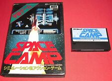 MSX Space Camp [JAP] RARE Jeu Sony Canon Hit Bit  *JRF*