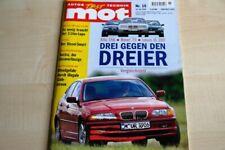 1) MOT 15/1999 - Ford Excursion 7.3 V8 mit 235P - Volvo C 70 Cabrio 2.4 T mit 19