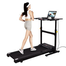 Goplus Electric Treadmill Standing/ Walking Desk Tabletop Work Height Adjustable