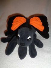 Butterfly Hand Glove Puppet Black Orange Wings 1993 Plush Creations Stuffed Bug