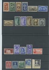 REPUBBLICA 1949 ANNATA CPL. 22V. 3 ** LUSSO CERT.