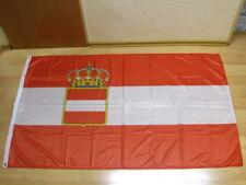 Banderas Austria Hungría 1786-1918 marine u. guerra bandera impresión digital - 90 x 150