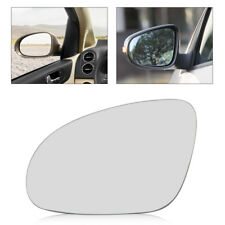 Left Driver Side Wing Heated Mirror Glass + Holder For VW Golf MK5 Jetta Passat
