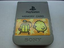 Tested Official Tamagotchi Playstation 1 Memory Card fr PSX US/Japan PS1 Sticker
