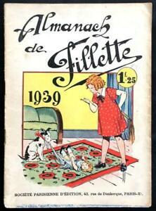 EO Fillette Almanach 1939 (Giffey) (TBE)