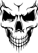Aufkleber Sticker Skull Totenkopf  Wandtattoo Airbrush Auto Motorrad Tuning 2001
