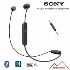 Sony WI-C300 Wireless Bluetooth Earphones Smartphone Control & Mic (OEM)