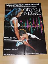 ORFEU NEGRO - Kinoplakat A1 WA 70er - MARCEL CAMUS
