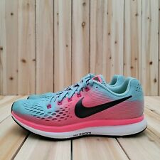 New ListingNike Air Zoom Pegasus 34 Running Shoes Women's Size 6.5 Mica Blue/Racer Pink