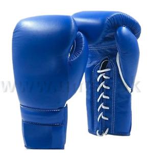 "New Custom Made Leather Boxing Gloves Any "" Reg "" Logo or Name"