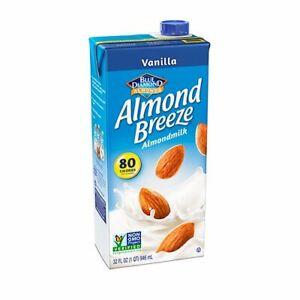 Almond Breeze Almondmilk, Vanilla, 32 fl oz( 6 pack)