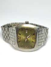 Goldlion Stainless Steel Quartz Watch WORKING