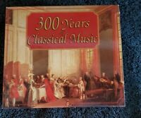 300 Years Of Classical Box Set of 4  Cds Mozart Beethoven Ravel Many More L☆☆K