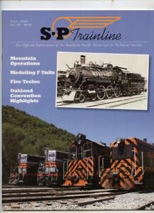 Southern Pacific SP TRAINLINE Magazine - Fall 2006