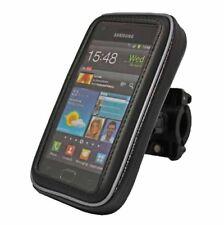 Motorrad Fahrrad Set für HTC Rezound Tasche + Halter Halterung Hülle Bag (big)