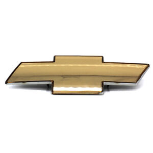 FITS TO CHEVROLET SILVERADO GRILLE EMBLEM FRONT GRILL GOLD BADGE USA