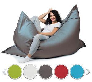 Sitzsack mit Füllung Sitzkissen Beanbag Indoor Outdoor XL- XXL Sessel für Kinder