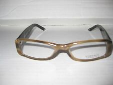 New VERSACE Eyeglasses Frames 3109B COL 773 BROWN for Women 100% Authentic