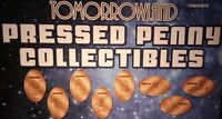 Disney's Tomorrowland Magic Kingdom Complete Set Eight Souvenir Pressed Pennies