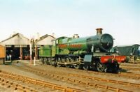 PHOTO  GWR MANOR NO 7808 COOKHAM MANOR 2001 AT DIDCOT GWRPS ON SHED