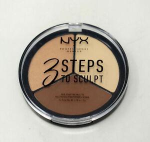 NYX 3 Steps To Sculpt Face Sculpting Palette Light - Pale 3STS02