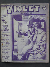 UK Pulp Magazine - THE VIOLET MAGAZINE  No. 66  Mar 6, 1925