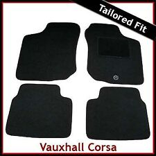 Vauxhall Corsa B 1993-2000 Tailored Carpet Car Floor Mats BLACK