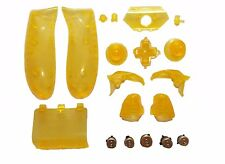 Replacement Buttons Kit + Gold Bullet ABXY & Guide for Xbox One Controller Shell