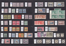 Trinidad & Tobago. 1896-1949. Fine mint selection on two stockcards.