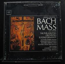 Ormandy - Bach Mass In B Minor 3 LP VG+ M3S-680 1st 360 Sound w/Book Record